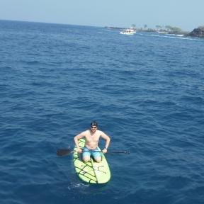 Glenn the lifeguard/ferryman