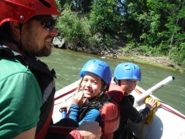 Rafting the Animas River in Durango, Colorado