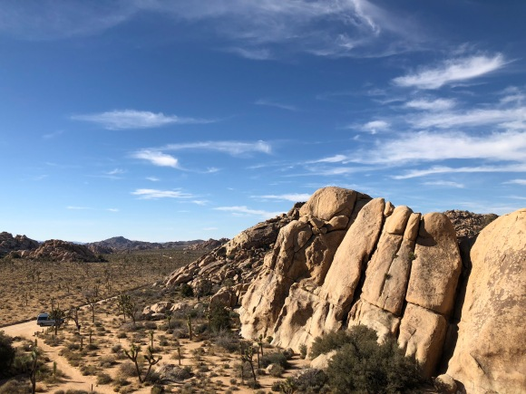 Gorgeous spring weather in the desert