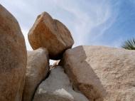 Balanced rock - I got to crawl through that gap