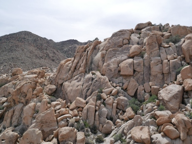 Some of the rocks near the Rattlesnake Canyon picnic area