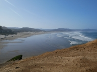 Looking back on Pacific City from the top of the Cape