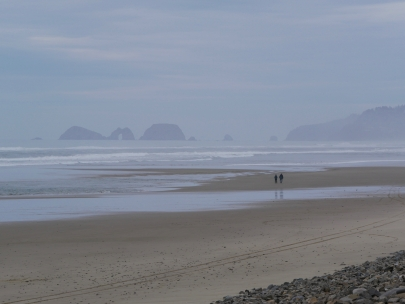 At Cape Lookout...looking out to the Three Arches